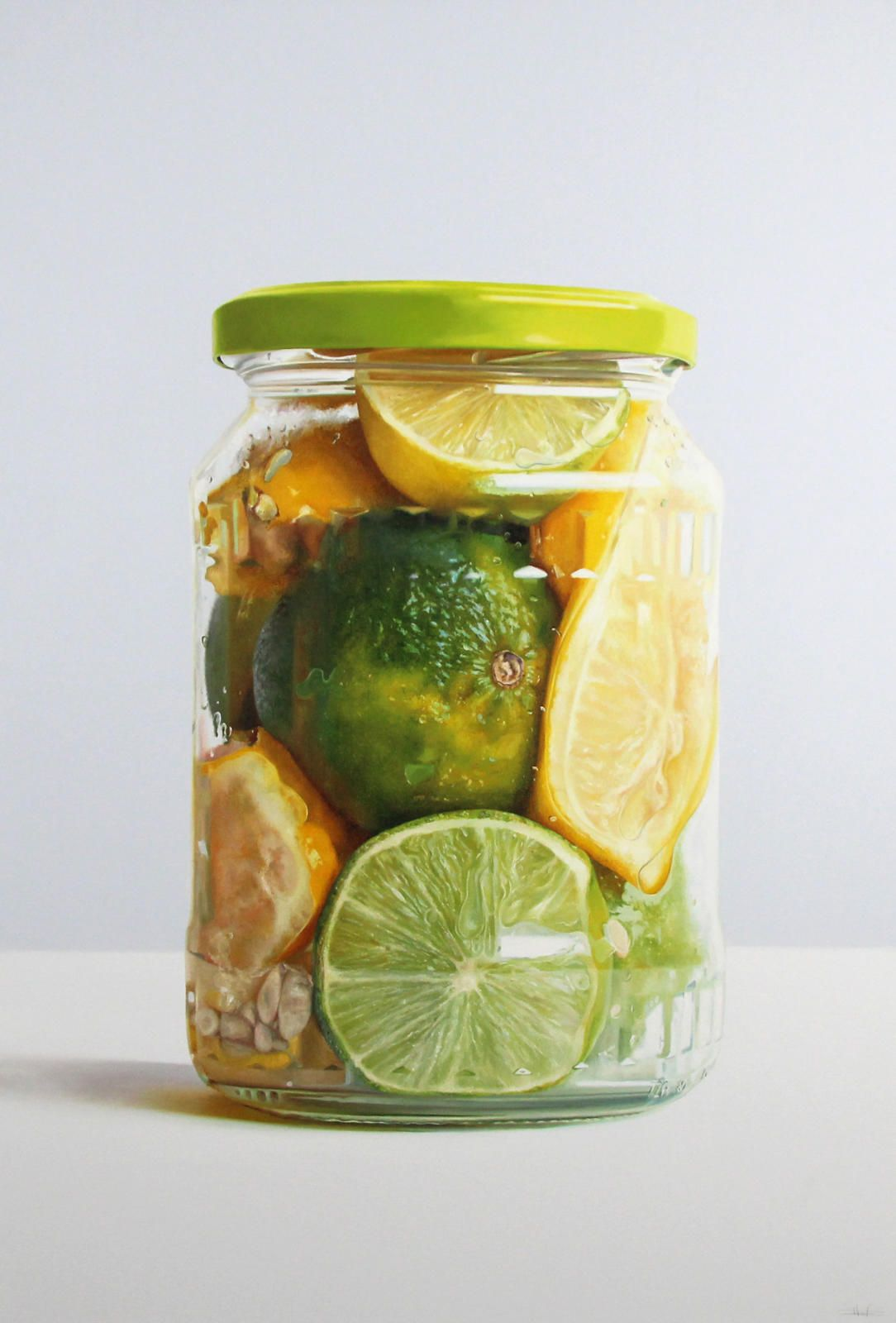 Lemons and Limes in a Jar