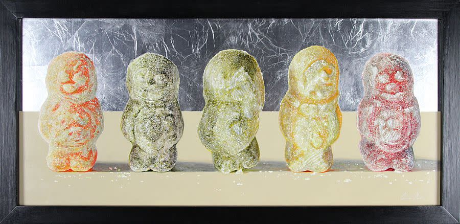 Jelly Babies Line Up