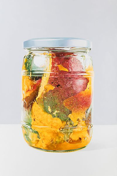 Mangos in Jar