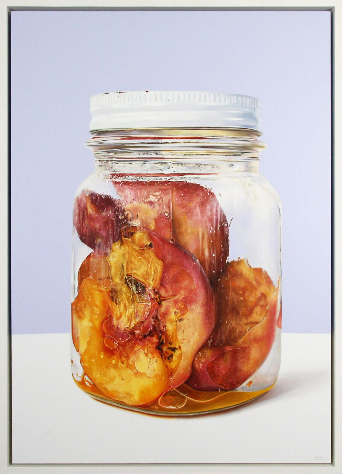 Nectarines in a Jar