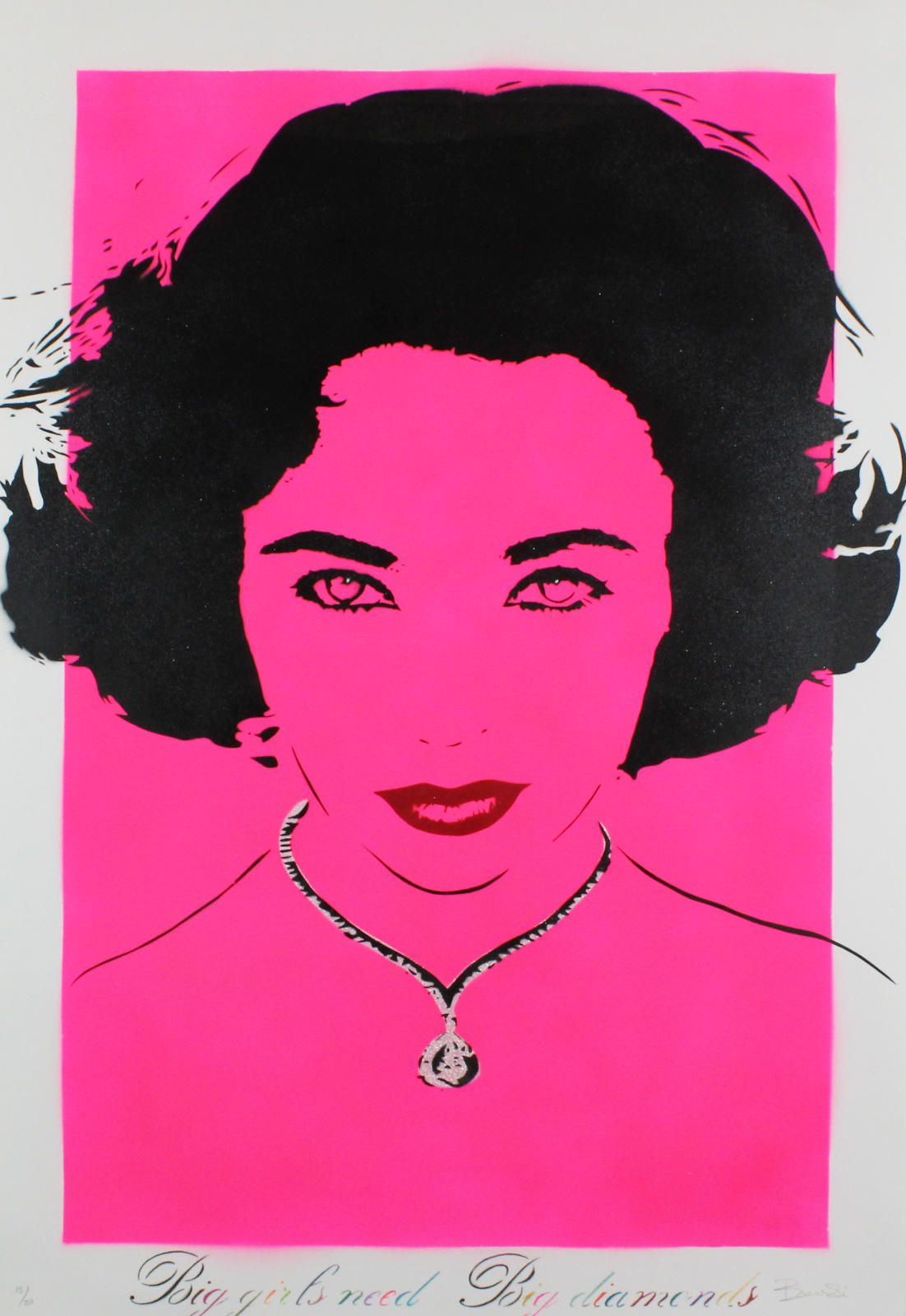 Big Girls Need Big Diamonds (Liz Taylor - Pink)