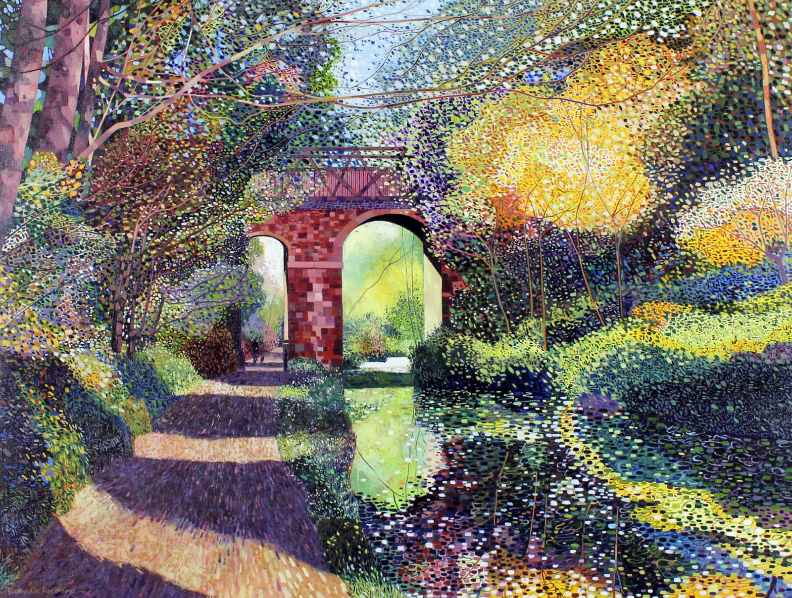 The Red Bridge: Lagan Towpath