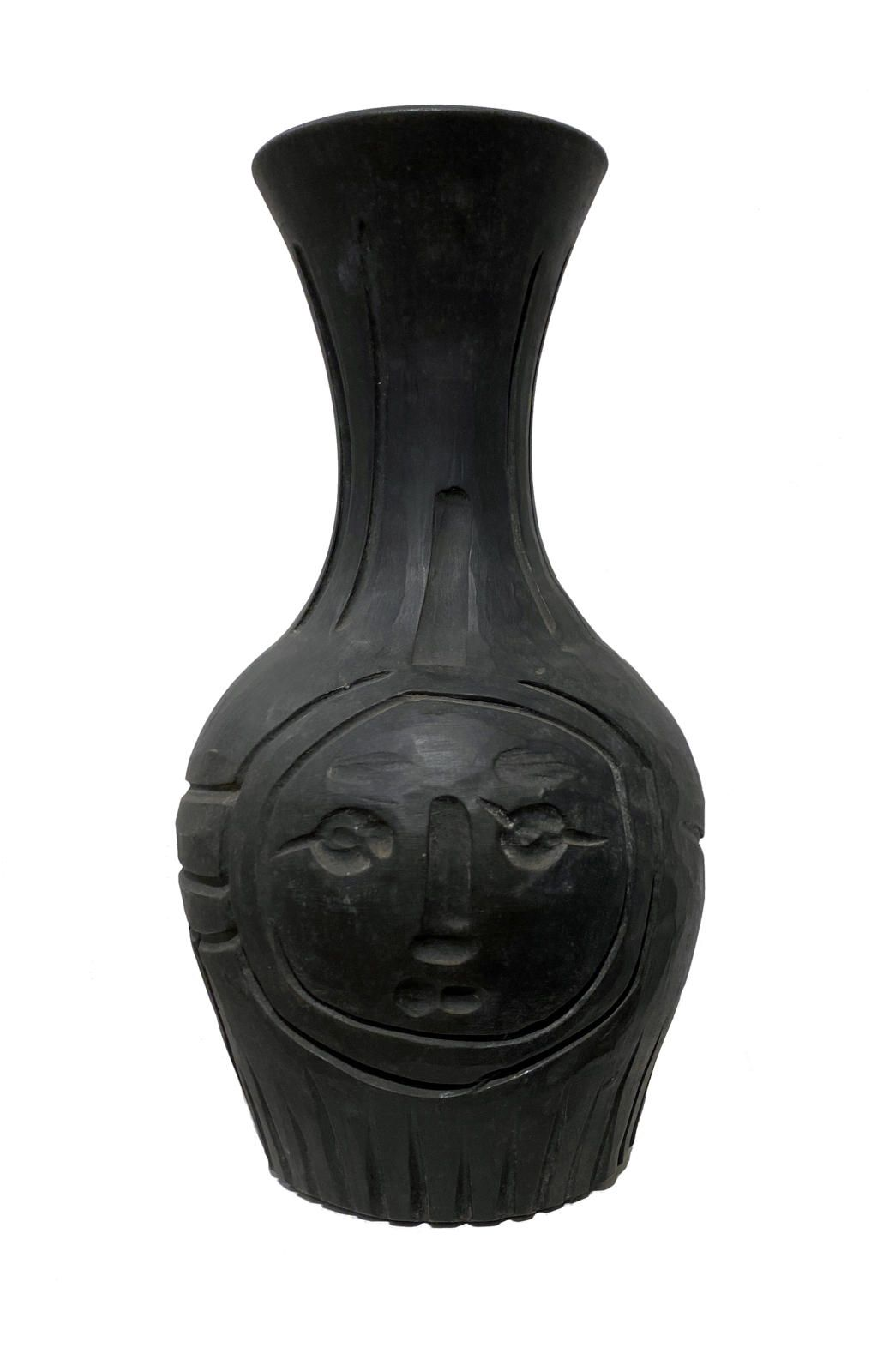 Black Engraved Face