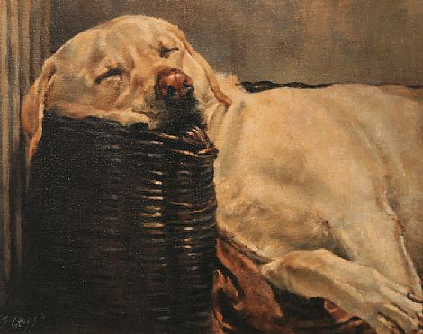 Lord Bailey I , Artists Labrador Gundog.