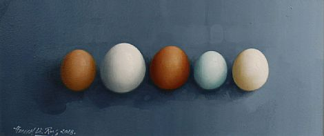 Egg Row by David French Le-Roy