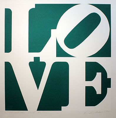 Greenpeace Love by Robert Indiana