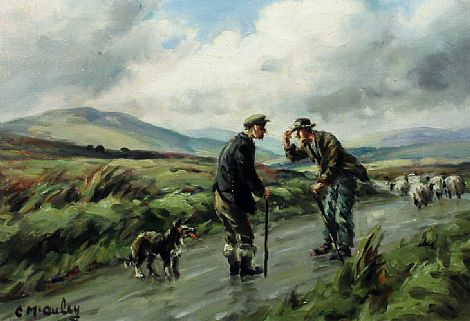 A Quiet Chat by Charles McAuley