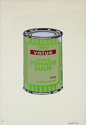Soup Can (Green and Red)