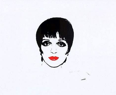 Liza Minnelli (FS 111C.34.B) by Andy Warhol