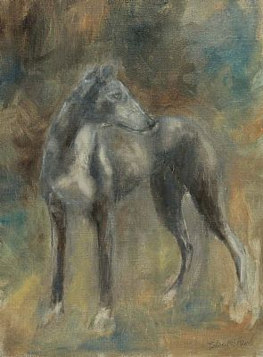 Lurcher by Basil Blackshaw