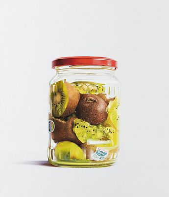 Kiwis In A Jar