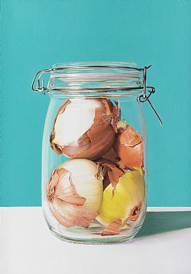 Onions in Jar by Stephen Johnston