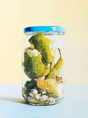 Pears in Jar