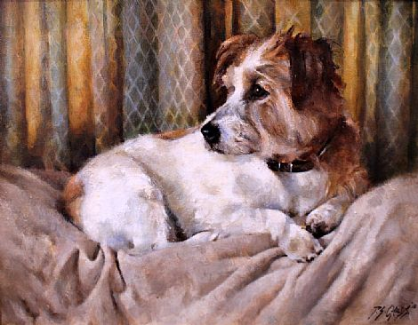 'Toby' Jack Russell Terrier by Philip Childs