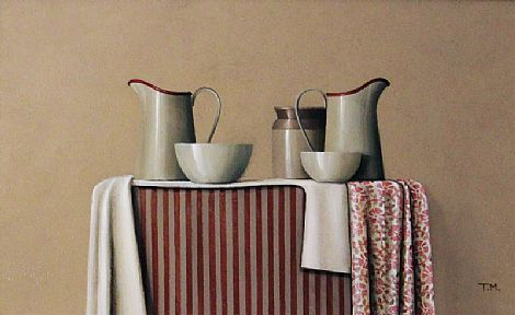 Red Rimmed Jugs