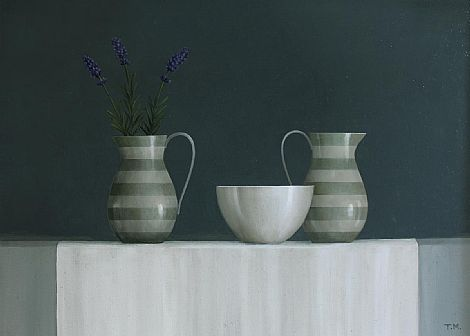 Jugs and Lavender