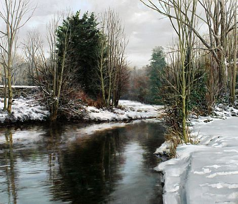 Winter Serenity by Eugene Conway