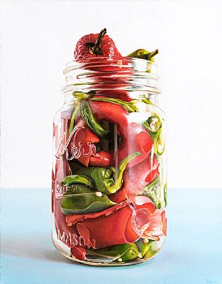 Chillies in Jar