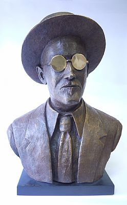 James Joyce Bust