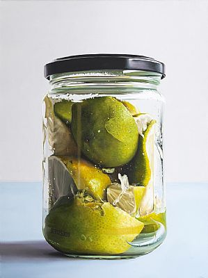 Lime in Jar