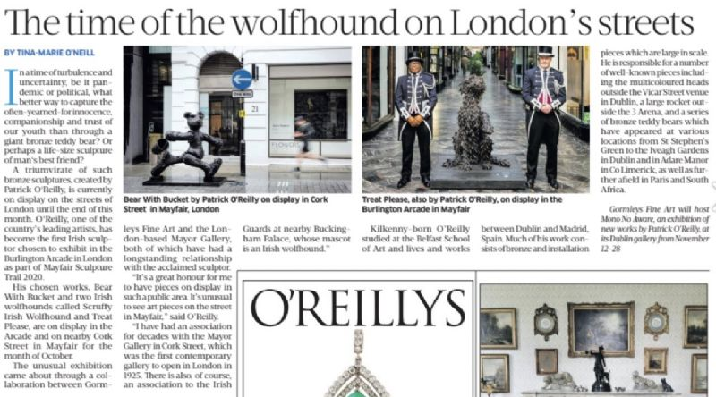 Sunday Business Post - Patrick O'Reilly in London